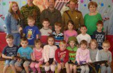 Состоялась встреча поисковиков с воспитанниками Детского Сада 62 «Журавушка» г. Таганрога.