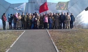 5 марта 2017 года Поисковый отряд «Миусская высота» организовал и провел памятные мероприятия