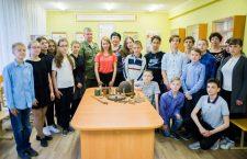 2 мая 2017 года поисковики отряда «Родник» провели встречу с учащимися МОУ СОШ №13 города Волгодонска