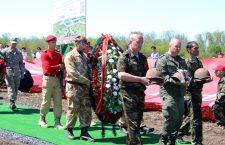 6 мая у мемориала «Самбекские высоты» Неклиновского района Ростовской области состоялось торжественное открытие Аллеи Славы