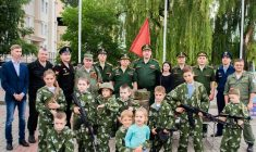 Волгодонские поисковики приняли участие в праздновании Дня молодежи на центральной площади Волгодонска