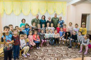 В Волгодонске детсадовцам рассказали о подвигах, совершенных детьми в военные годы