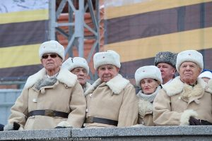 Главные гости праздника mdash; ветераны. Иллюстрация к материалу ИА REGNUM