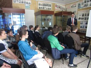 В Егорлыкском историко-краеведческом музее, прошла редкая патриотическая акция.