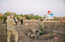 В Куйбышевском районе в с. Ясиновское удалось обнаружить массовое братское захоронение периода Великой Отечественной войны.