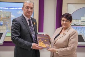 В Волгодонске состоялась презентация книги «Ратная слава Дона»