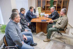 Состоялась встреча заместителя директора Ростовской АЭС с председателем Ростовского Регионального отделения ООД «Поисковое Движение России»
