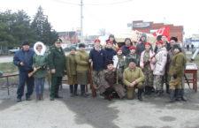 В день освобождения станицы Егорлыкской была развернута экспозиция районного музея «Штаб 134-го танкового полка»