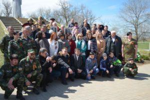 20 апреля 2019 года в селе Новый Маныч Сальского района состоялось торжественное мероприятие посвященное памяти воинов погибших в Великой Отечественной войне