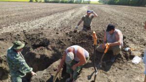 В августе месяце начались полевые поисковые работы второго этапа в рамках Межрегиональная Вахта Памяти «Фронтовая память Дона»