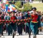 В день 76-й годовщины освобождения Ростовской области от немецко-фашистских захватчиков на территории строящегося народного военно-исторического музейного комплекса «Самбекские высоты» прошли торжественные мероприятия