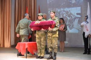 Состоялась торжественная церемония передачи останков солдата Красной армии Наума Трофимовича Антюшкина, на Родину