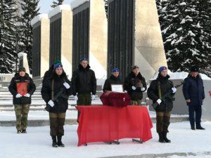 23 декабря, муниципальному образованию «Чойский район» республики Алтай передан прах Наума Антюшина — солдата, найденного в Обливском районе Ростовской области.