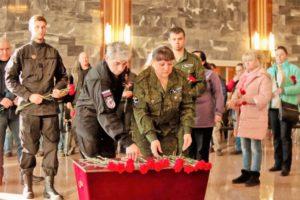 Украинские поисковики передали останки наших земляков, погибших в сорок первом в боях под Киевом и Черниговом