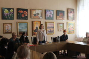 В бывшем здании офицерского собрания в столице донского казачества – в городе Новочеркасске 22 сентября прошла встреча библиотекарей и представителей школ города