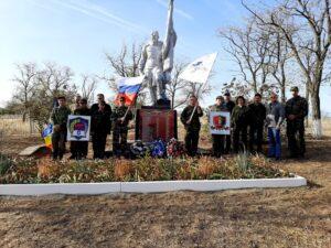 Патриотические организации области, при участии Донских поисковиков провели необычное мероприятие – Десант Памяти