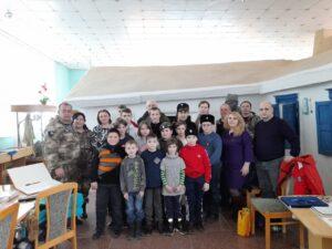 25 марта 2021 года Военно-патриотический поисковый клуб «Русич» провели экскурсию в доме-музей С.М. Будённого