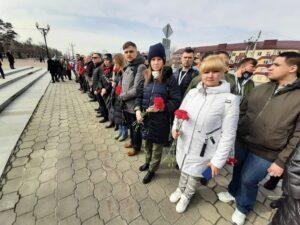 Ростовчанка Ольга Шорохова побывала на открытии «Вахты памяти-2021» в Южно-Сахалинске