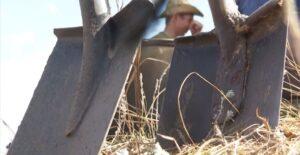 Поисковики отряда «Памяти РАУ» нашли в Родионово-Несветайском районе заброшенное захоронение сапера