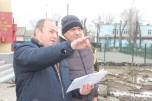 Поисковики отряда «Родник» провели поисковые работы на территории реконструируемой площади в селе Дубовском