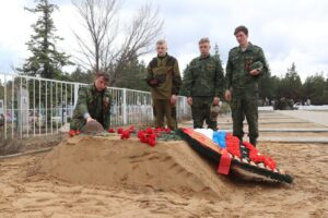 28 апреля в Шолоховском районе были преданы земле останки семи солдат, погибших на донской земле