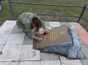 Вахта памяти в Белокалитвинском районе продолжается