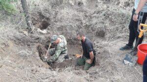 В Обливском районе «черные копатели» надругались над останками красноармейцев неучтенного воинского захоронения