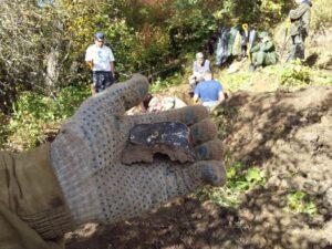 В Шолоховском районе нашли место падения советского бомбардировщика